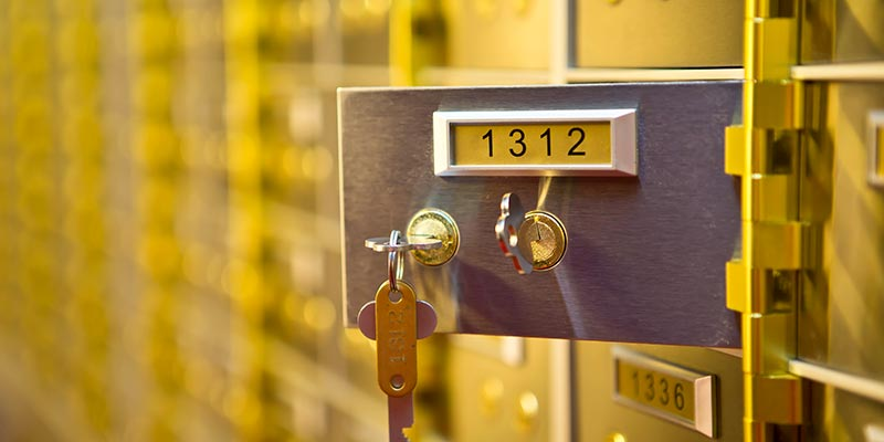 Safety Deposit Boxes Brighton
