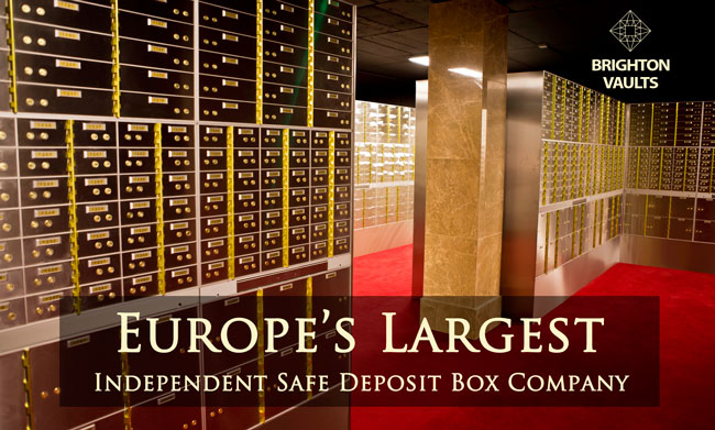 Safe Deposit Boxes Opening Soon Brighton